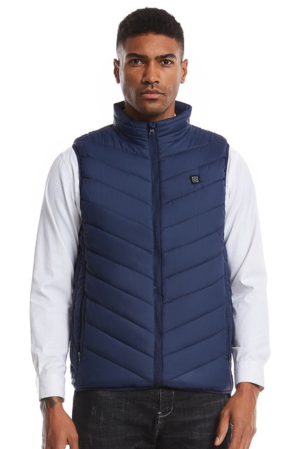 Men Women USB Heated Vest Heating Thermal Warm Clothing Winter Usb Vest Heated Jacket Fishing Chaleco Nerf Vest Gilet Chauffant 1