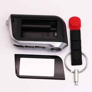 Image 2 - 10 Teile/los A93 fall keychain für starline A96 A99 A69 A63 A39 A36 abdeckung gehäuse lcd 2 weg auto fernbedienung control autostart alarm fall