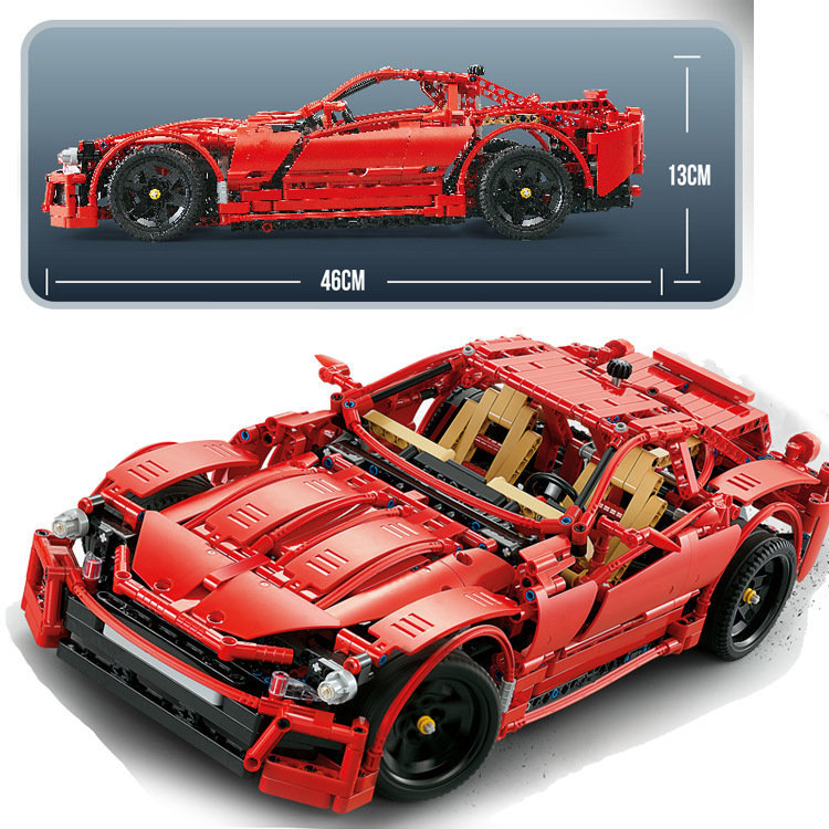 1441PCS Technic Series Sport Racing Car Model Set Building Blocks MOC Blocks Toys For Children Car Vehicle Kit Bricks Kids Gift