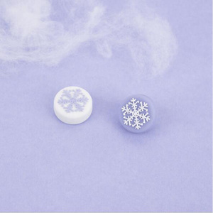 Image 4 - Cute Snowflake Girl Snow flower Thumb Stick Grip Cap Joystick Cover For Nintend Switch NS Lite NS JoyCon Controller Gamepad Case