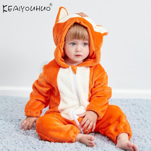 2020 Winter Newborn Boys Coat Overalls For Baby Girls Clothes Infant Toddler Chi