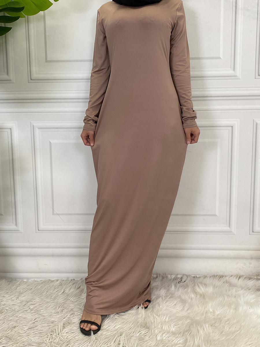 Hijab-Dress Turkey Kaftan Islamic Clothing Dubai Abaya Arabic Muslim Vestido Middle-East