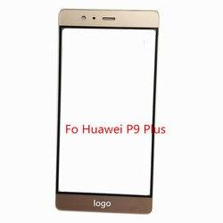 Передняя внешняя стеклянная линза сенсорный экран панели запасные части для Huawei P9 Plus