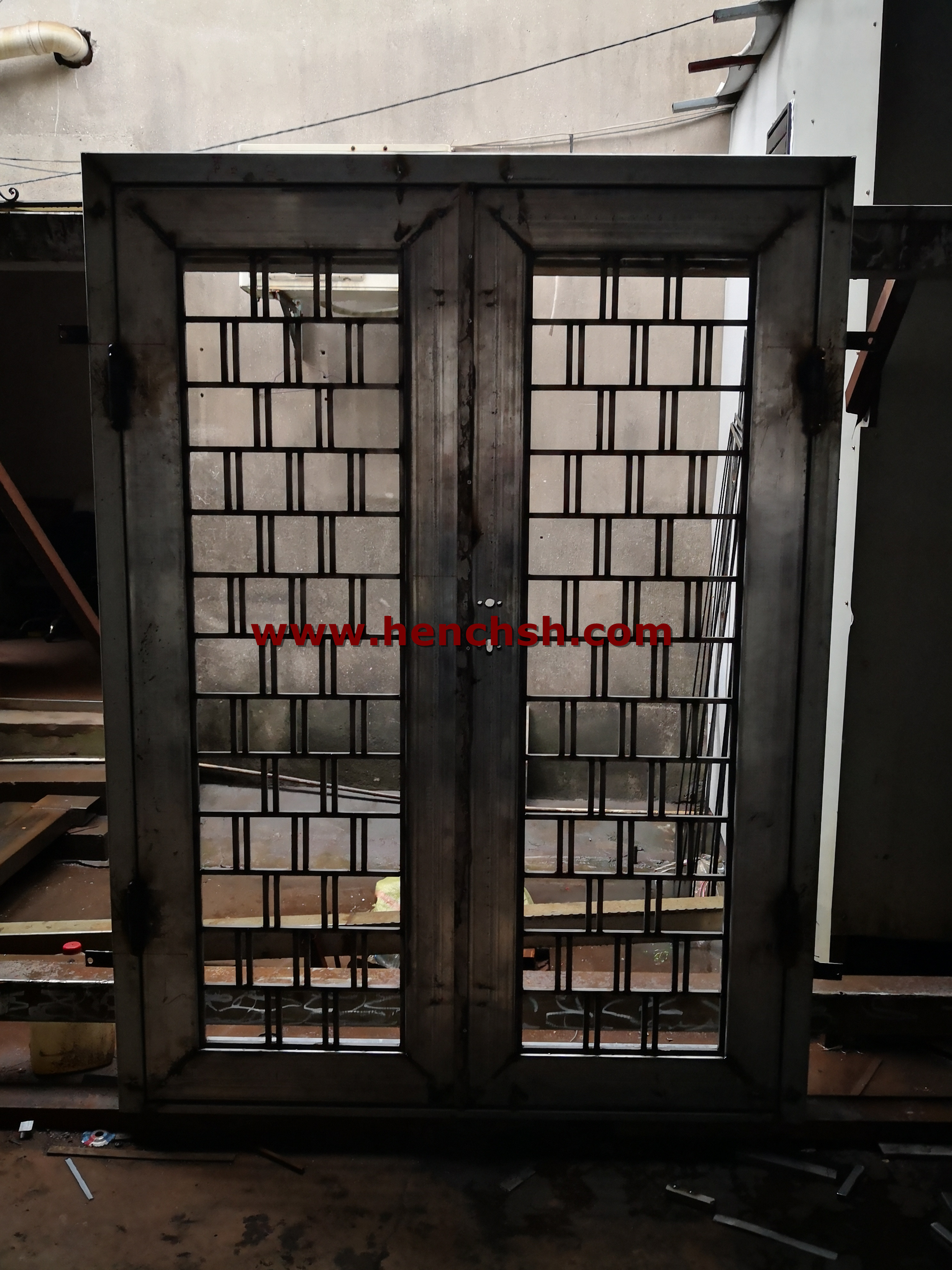Hench 100% Steel Made Iron Doors