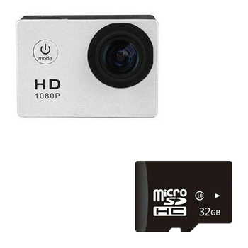 1080P HD Mini Action Camera 12MP Wireless IP Camera Camcorder 30m Waterproof DV Sports Cam CCTV Night Version Human Tracking 11