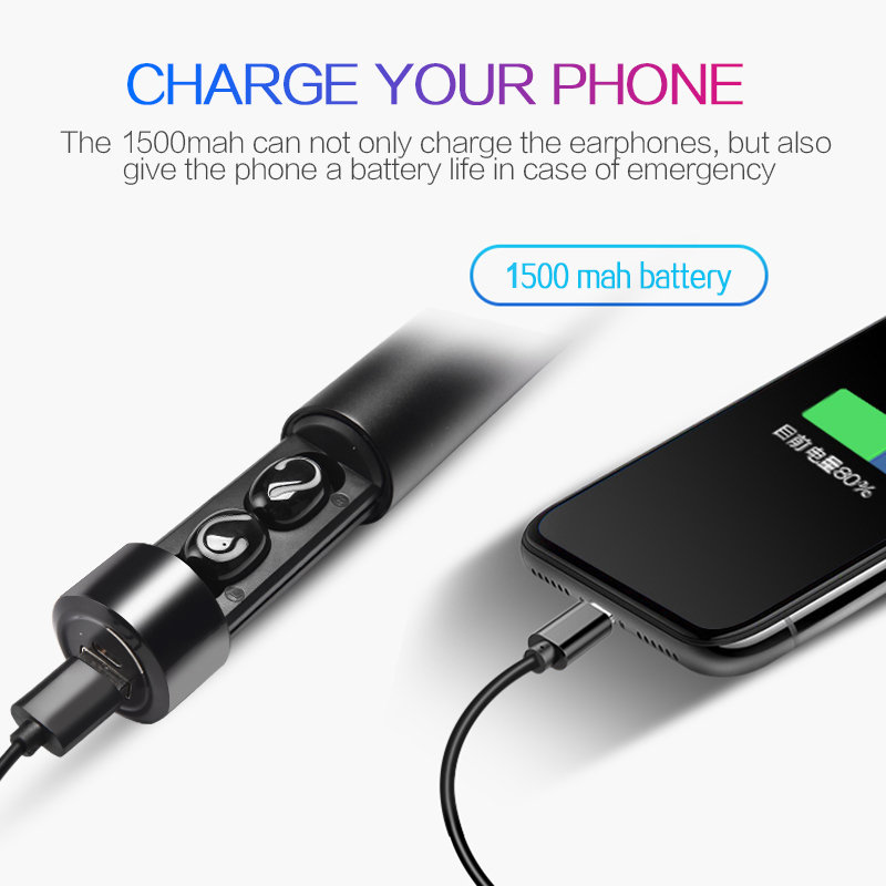 Image 3 - Wireless Bluetooth Earphone For Samsung Galaxy A80 A70 A60 A50 A40 A30 A20 A10 A9 2018 A7 Prime A8 M30 M20 M10 Headphone EarbudBluetooth Earphones & Headphones   -