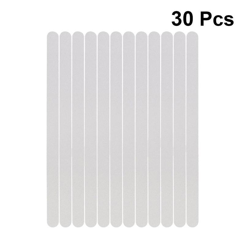 30 шт. противоскользящие полоски прозрачные наклейки для душа безопасные полоски для ванной нескользящие полоски для ванны душевые лестниц...