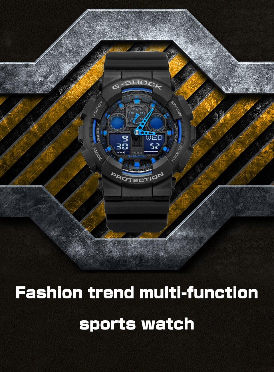 Casio-GA-100-Waterproof-watch-men-g-shock 3