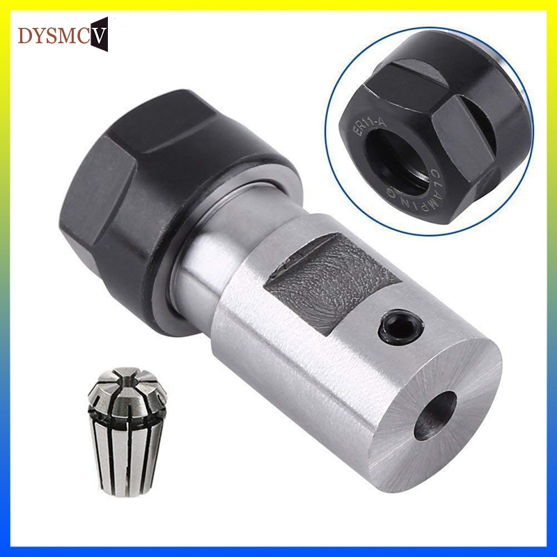 1pcs Drill Chuck Extension Shaft Lathe Tools ER11 ER16 ER20 8 MM 10 MM 12 MM 14 MM 16 MM 5mm 6.35mm 6mm Boring Milling