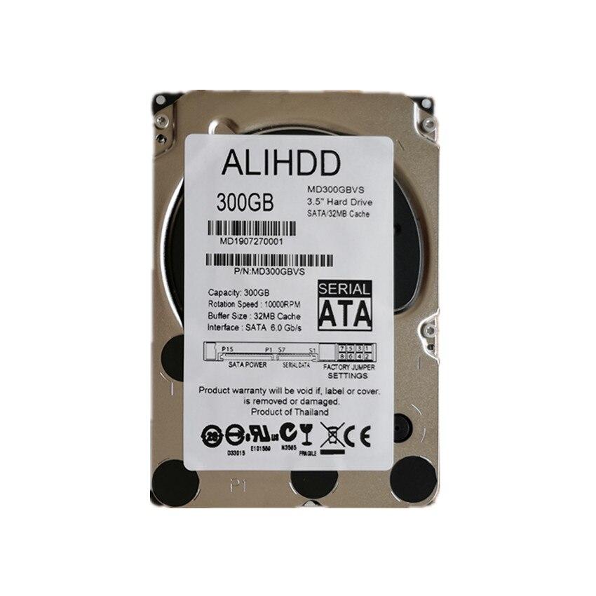 300GB 10K SAS 6 Gb/s 2,5 Zoll Interne Unternehmen Festplatte Server HDD Garantie 1-jahr