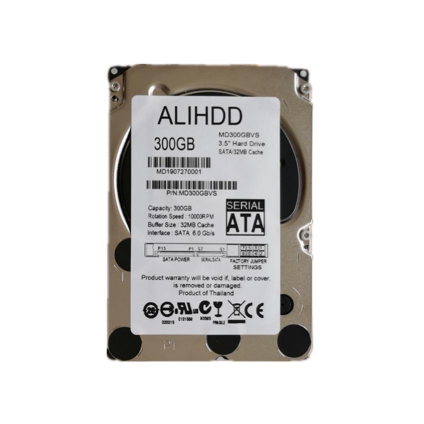 300GB 10K SAS 6 Gb/s 2.5inch Interne Enterprise Harde Schijf Server HDD Garantie 1 Jaar
