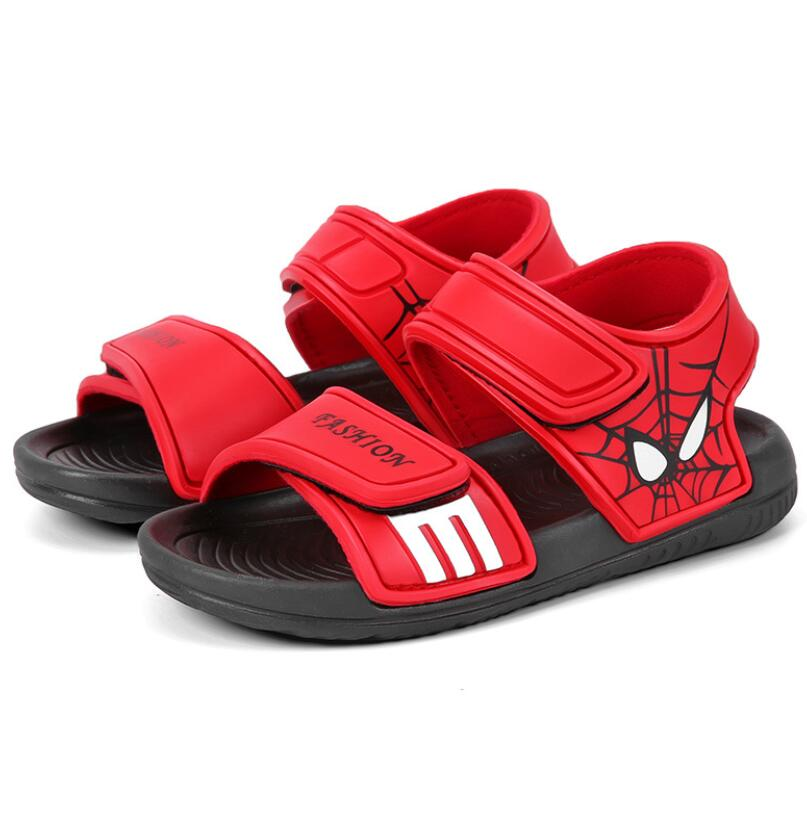 2020 Kids Shoes 1 Pair Casual Children Kids Shoes Baby Boy Closed Toe Summer Beach Sandals Flat Breathable Beach Slip-On Shoes