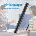 Умный голосовой переводчик портативный 40 языков мгновенный голосовой переводчик многоязычный английский язык Обучение путешествия