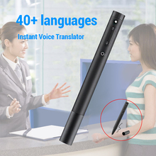 Smart Voice Translator Portable 40 Languages Instant Voice Translator Multi-language English Language Learning Travelling