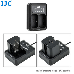 Image 2 - Зарядное устройство JJC для Sony A9 A7III A7RIV A7RIII A7M3 A7RM4 A7RM3 A7 Mark III A7R Mark IV III, заменяет BCQZ1 с двумя USB портами