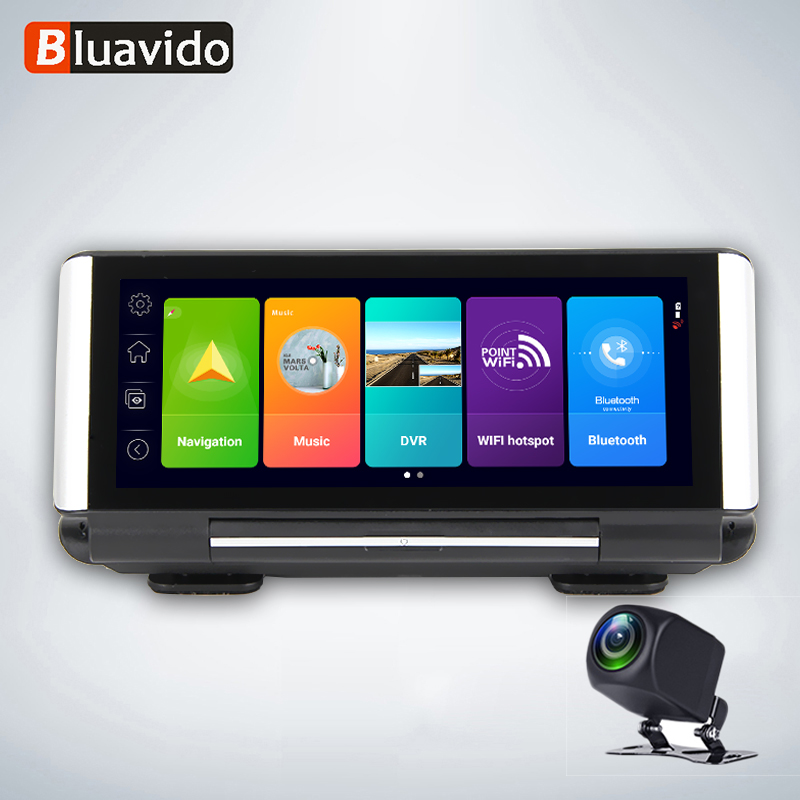 Bluavido ADAS <font><b>Car</b></font> Android <font><b>Mirror</b></font> 4G <font><b>DVR</b></font> Camera 7