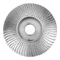 Grinding Wheel 84*84MM Wood Sanding Carving Shaping Disc For Angle Grinder Professional Portable Tungsten Carbide