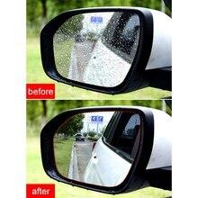 2 шт. Автомобильное зеркало заднего вида непромокаемая пленка боковое окно HD непромокаемая пленка зеркало заднего вида полный экран Анти-туман нано водонепроницаемый Fil