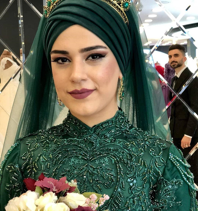 2019-arabic-aso-ebi-muslim-hunter-green-lace-beaded-wedding-dresses-high-neck-bridal-dresses-long-sleeves-wedding-gowns-zj422 (2)_副本