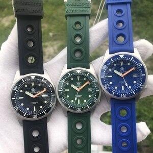 Image 5 - STEELDIVE montre de plongée automatique pour hommes, étanche, Shark NH35, 1979 m, mécanique, étanche, 200, nouvelle collection 2020