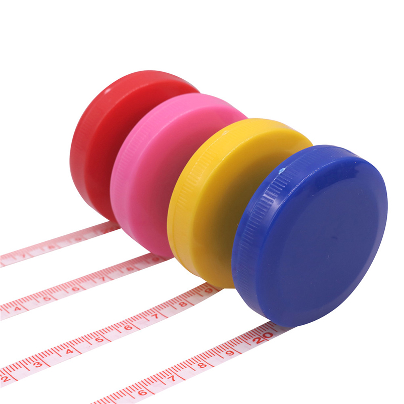 Random Color 1pcs Soft Tape Measure 150cm Roulette Measuring Tape Measure Retractable Colorful Portable Ruler Centimeter Inch