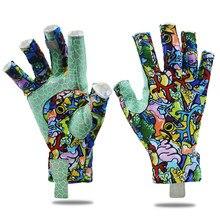 Savior Fishing Gloves Sun Men Hands Protection Gloves Breathable Outdoor Sportswear Gloves Carp PU Fishing Equipmen