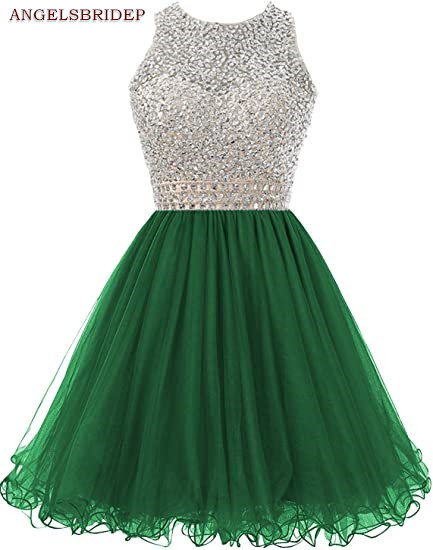 ANGELSBRIDEP-High-Neck-Homecoming-Dresses-Sparkly-Crystal-Beading-Vestidos-de-festa-Tulle-Formal-Graduation-Formal-Party (4)