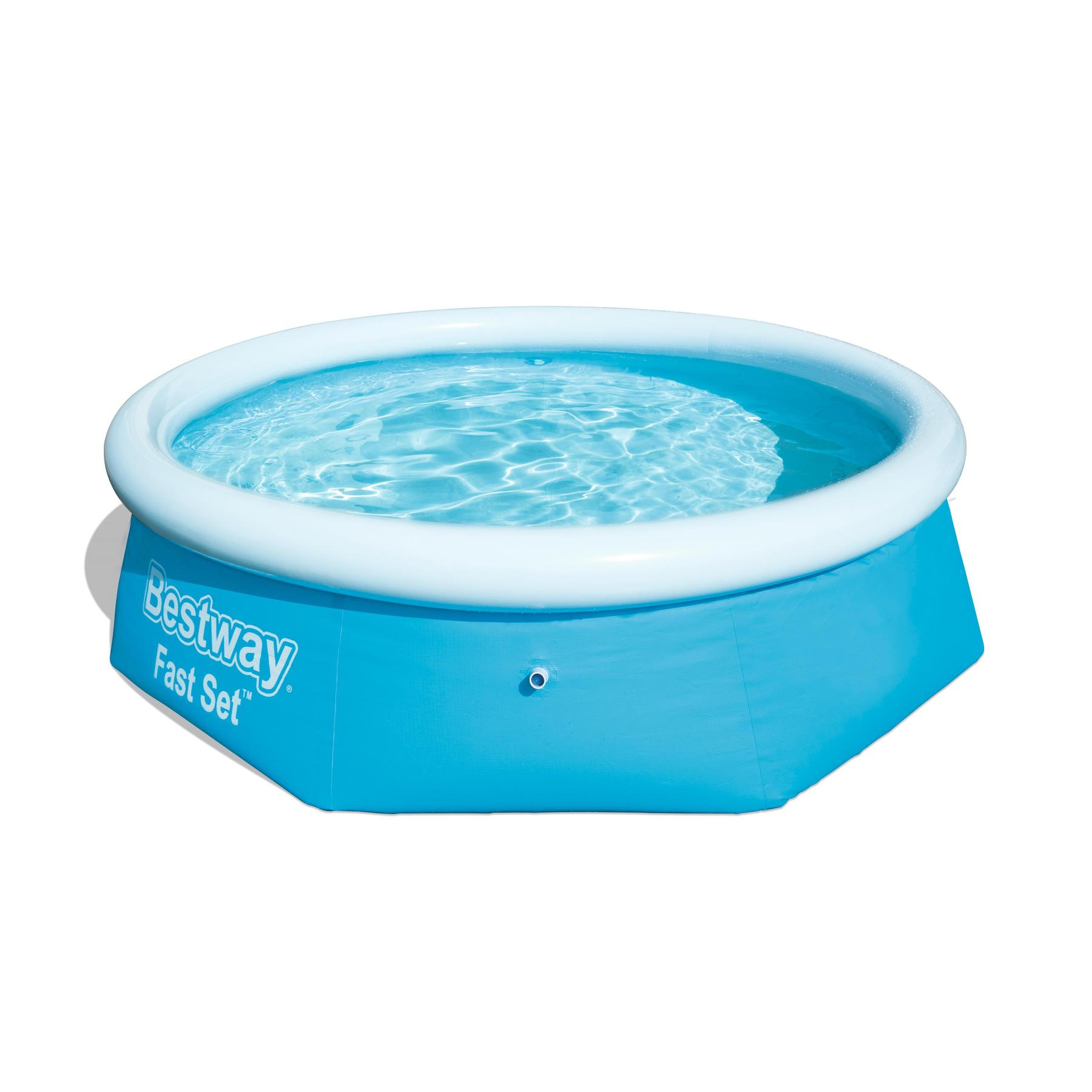 Round Pool Inflatable водораспорный Children's Fast Set 244 х66 Cm, 2300 L, Bestway, Item No. 57265/57008