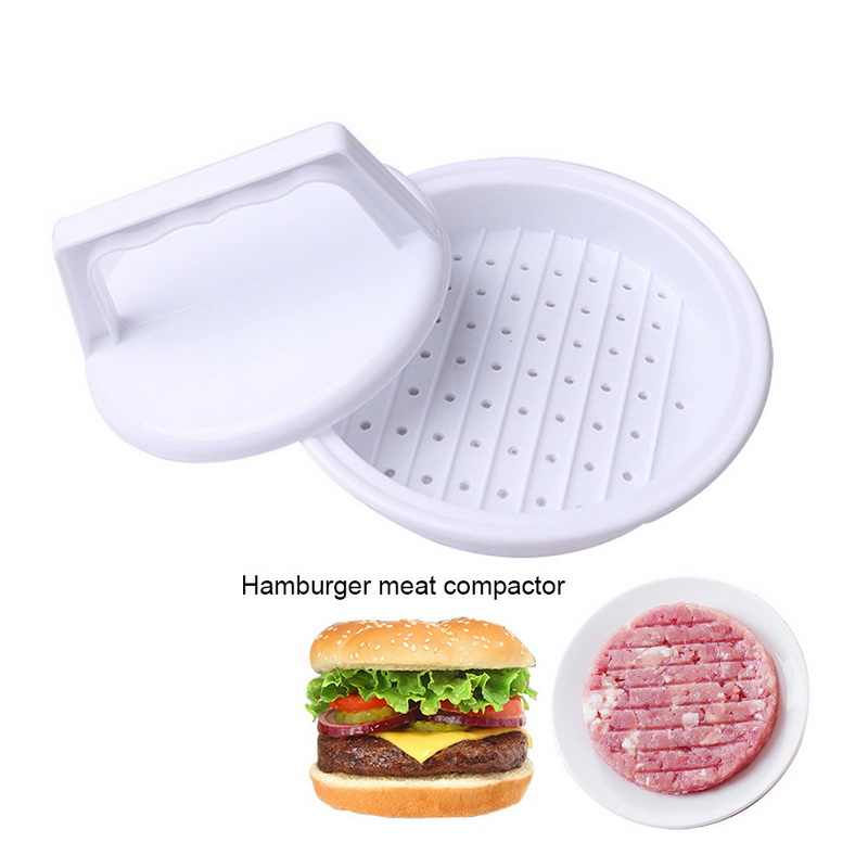 Diy Hamburger Vlees Druk Tool Food-Grade Plastic Makers Vlees Burger Maker Mold Hamburger Druk Burger Keuken Tool #15