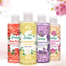 Гель для душа gotdya с лепестками лаванды розы вишни жасмина