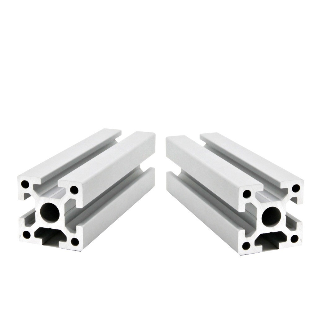 2 шт./лот 2020 алюминиевый профиль экструзии Европейский стандарт анодированный линейный рельс алюминиевый профиль ЕС 2020 CNC 3D части принтера