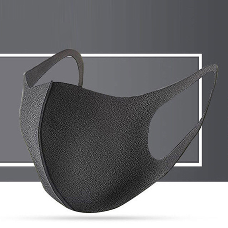 New Cotton Anti Dust Flu Mouth Face Mask Unisex Maska With Carbon Filter KN95 Masks Anti PM2.5 Black Mouth-muffle Mask