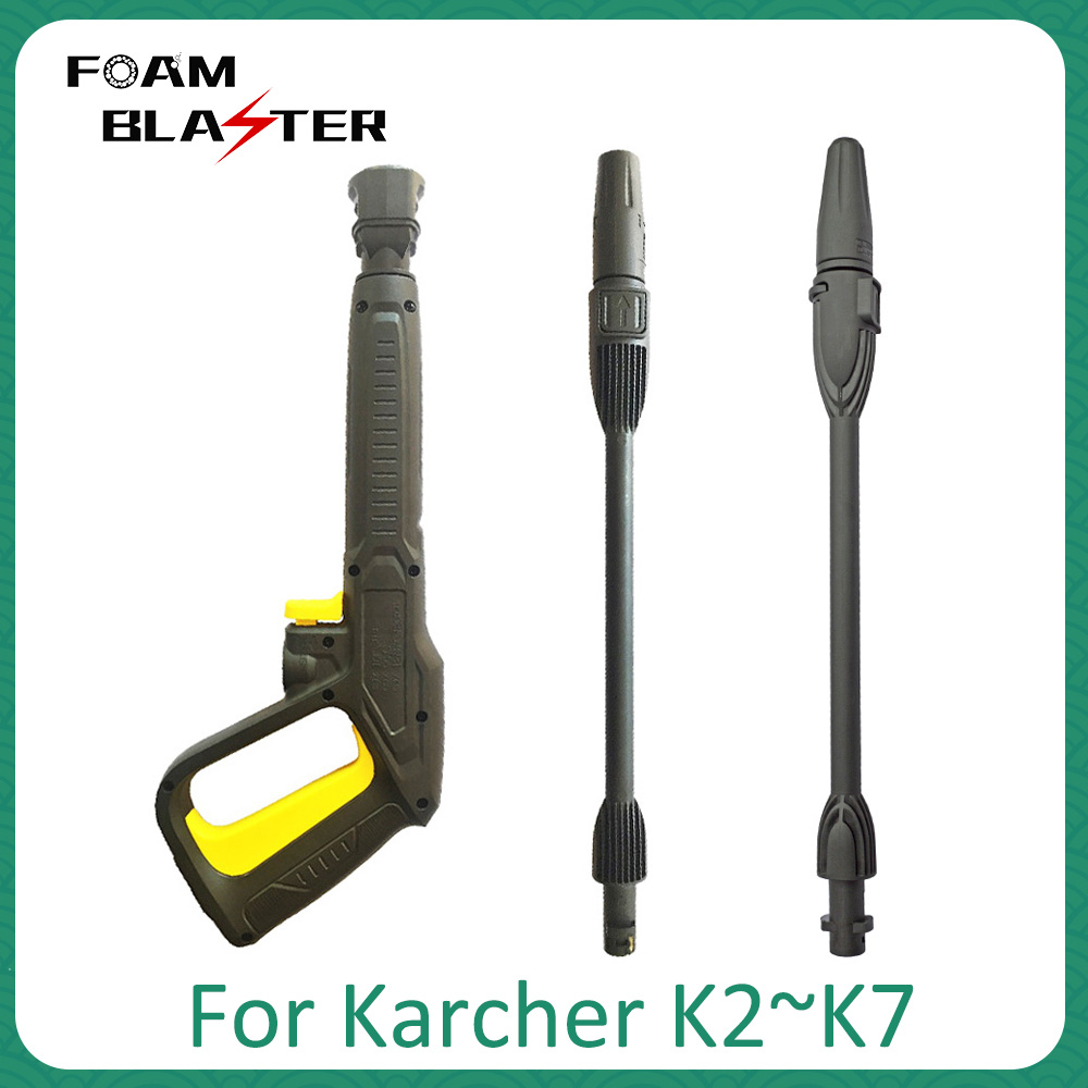 Pressure Washer Spray Gun Lance Nozzle High Pressure Car Washer Jet Water Gun Rotating Turbo Lance Nozzle Tip For Karcher K