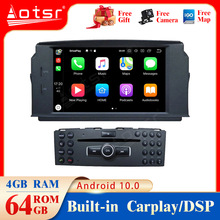 Android10.0 4G+64GB Car gps Multimedia Player For Mercedes Benz W204 C200 C180 2007 2010  GPS Navigation multimedia player dsp