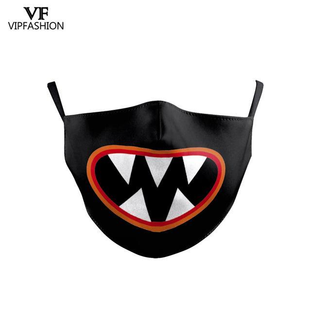 VIP FASHION Children's Masks Cute Cartoon Animal Anime Printed Masks Dustproof Anti-dust Protective bacteria proof Flu Kid Mask 4