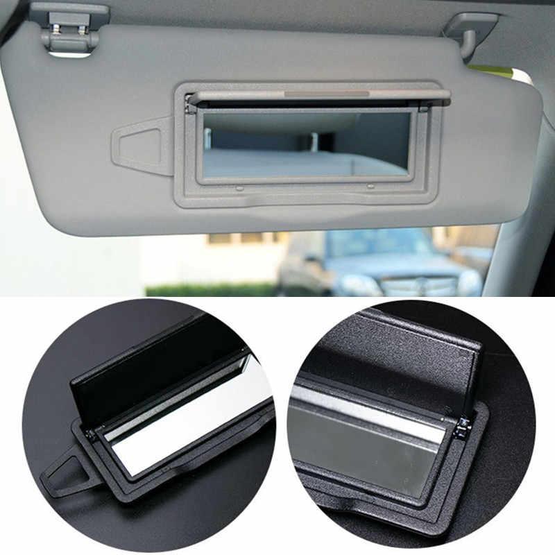Lusterko wewnętrzne samochodu makijaż kosmetyczne wewnątrz lusterko przeciwsłoneczne dla Mercedes Benz W204 C klasa 08-14 GLK C200 C260 GLK300 samochód stylizacji