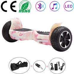 Hoverboard 8.5 Self Balancing Scooters Off-road Bluetooth All-terrain Electric Scooters Two Wheels Balance Skateboard Kids Gifts