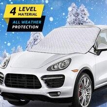 Зимний автомобиль лобовое стекло снежное покрытие Водонепроницаемый Защита утолщаются для авто открытый зима XR-Hot