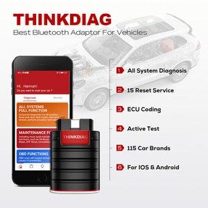 Image 5 - Alte boot chip Thinkdiag volle system OBD2 Scanner Diagnose Werkzeug OBDII Code Reader 15 reset funktionen PK Starten easydiag golo