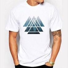 Moda retro registro de madeira impresso camiseta masculina manga curta casual harajuku hipster fractal padrão engraçado camisetas legal
