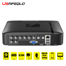 AHD/N DVR 4Channel 8Channel CCTV AHD DVR AHD N Hybrid DVR/1080P NVR 4in1 Video Recorder For AHD Camera IP Camera Analog Camera