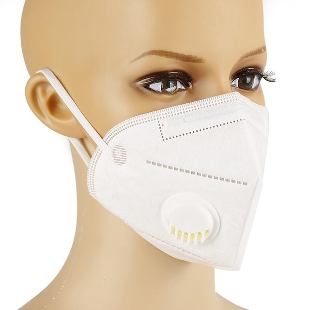 KN95 face mask FFP2 masks with vavle Protective filter mask anti dust n95 mask anti fog mask mascherine tapabocas mascarillas 5