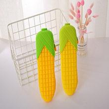 Moda symulacja kukurydza piórnik Kawaii styl akcesoria biurowe papiernicze uczniowie artykuły szkolne pudełka