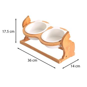 Height Adjustable Holder for Cats Bowl 4