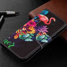 Luxury PU Leather Wallet Flip Phone Cases For Xiaomi Poco F1 A2 Lite Redmi 6 6A Note 5 Pro 4X Cute Cover Bag DP07Z