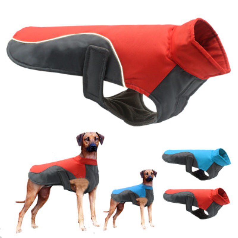 Large Dog Raincoat Waterproof Big Dog Clothes Coat Rain Jacket Waterproof Rain Jacket Jumpsuit For Pet Large Dogs Puppy S/M/L/XL