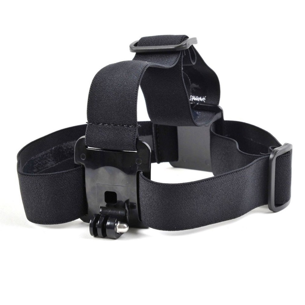 Adjustable Elastic Head Mount Belt Head Strap Camera Mount for Gopro HD Hero 2 3 for Xiao Yi SJ4000 Dropshipping image