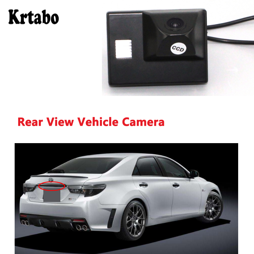 krtabo parking camera high quality waterproof car back up camera For Toyota Reiz For Toyota Mark X image