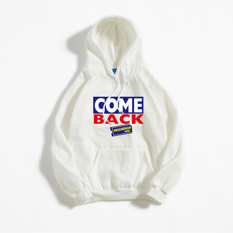 2020 Funny Letter Print Winter Mens Hoodies Hipster Hip Hop Plus Cashmere Balck Sweatshirt Harajuku Loose Japan Style Streetwear