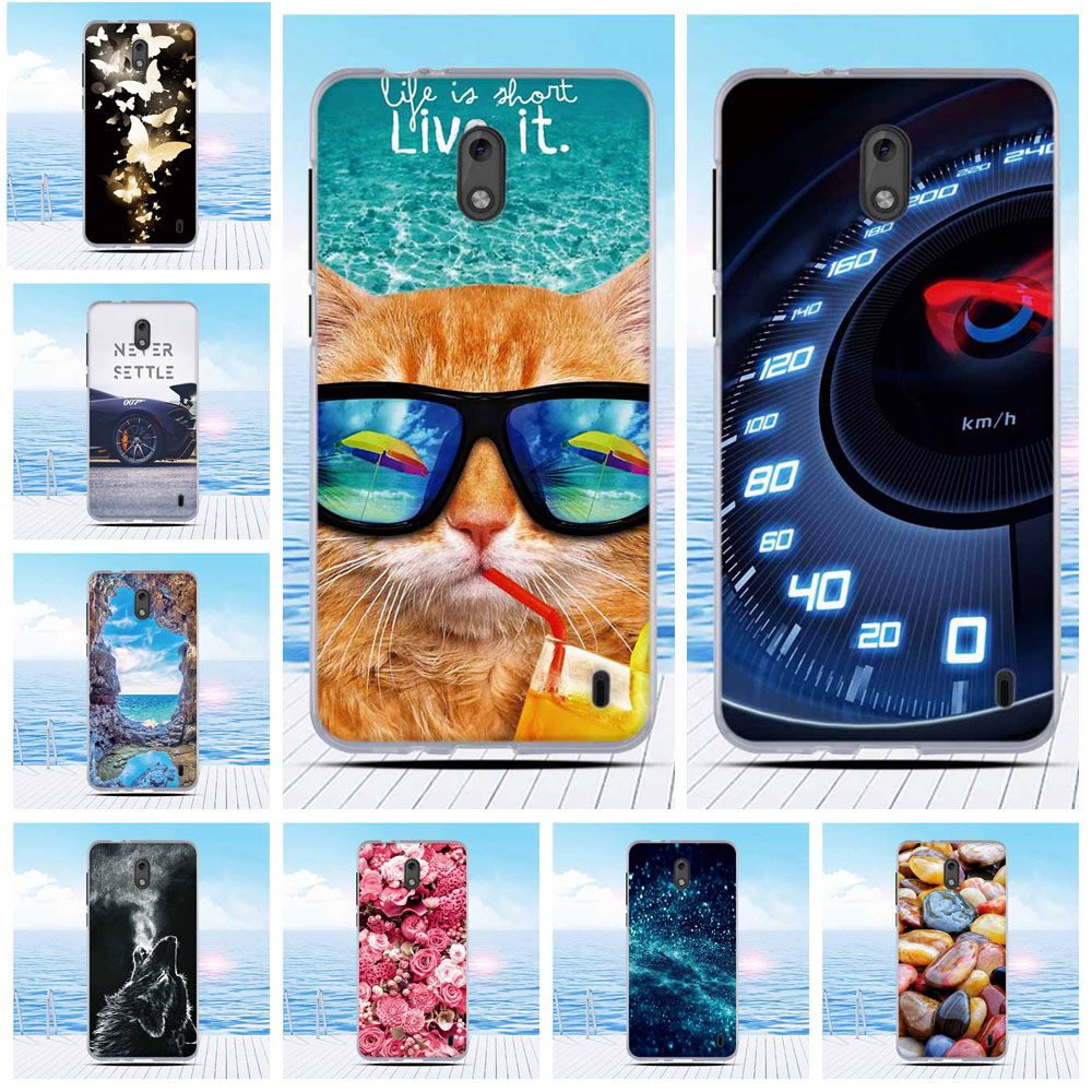 Case For <font><b>Nokia</b></font> <font><b>2</b></font> TA-<font><b>1029</b></font> TA-1035 Silicone Fashion Shell TPU Soft Case Cover For <font><b>Nokia</b></font> <font><b>2</b></font> Fitted Cover Bumper Coque Funda 5.0 inch image